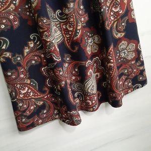 Worthington's Skirts - 2/$30 ❤ Vintage Paisley Skirt
